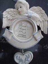 SARAH'S ANGELS ~ BOY FRAME ~ PERSONALIZED ORNAMENT  #30883