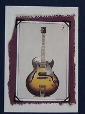 W / fait main carte de vœux avec 1956 Gibson 175d guitare