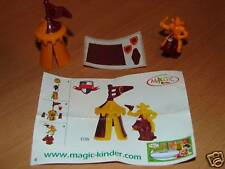 KINDER C-35 C35 FUNNY CASTLE RITTER + BPZ + STICKERS