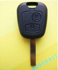 Remote 2 Button Key Shell Case Uncut key For citroen Citroen C3 2 buttons
