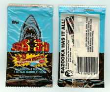 1983 Topps Jaws 3-D  single Wax Pack