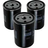 3x Original MANN Kraftstofffilter WK 731 Fuel Filter