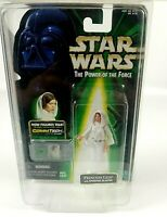 Hooded Princess Leia Sporting Blaster Star Wars Kenner Hasbro POTF 1999 Sealed