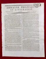 Mallemort en 1797 Bonaparte Athéisme Hommes sans Dieu Genova Italie Rudler