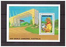 s14395) GRENADA 1988 MNH** Scout S/S