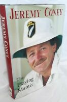 Jeremy Coney The Playing Mantis AUtobiography- SIGNED 1st Edition!