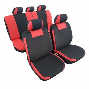 New Arrival 11pcs Polyester Complete Set Car Seat Cover For Honda Mazda Ford