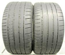 Two Used 285/30ZR20 2853020 Michelin Pilot Super Sport BMW 5-6/32 J320