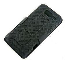 Motorola Droid Razr M XT907 Case, Shell Holster Combo Case -Kick-Stand & Holster