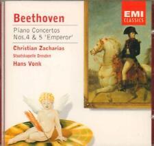 Beethoven(CD Album)Piano Concertos No's. 4, 5 'Emperor'-New