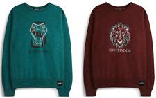 Harry Potter Women's Jumper Gryffindor, Slytherin OR Ravenclaw Primark Sweater