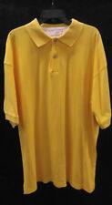 Men's Smith & Watkins XXL Casual Short Sleeve Shirt. Color is Yellow.