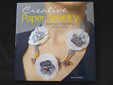 CREATIVE PAPER JEWELRY by DAFNA YAROM JEWELLERY PROJECTS EARRINGS PENDANTS PINS
