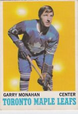 1970-71 O PEE CHEE HOCKEY GARRY MONAHAN #112 MAPLE LEAFS EX+ *61776