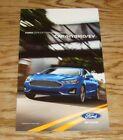 2019 Ford Car Hybrid EV Exterior Colors Brochure Mustang Shelby GT350 Bullitt