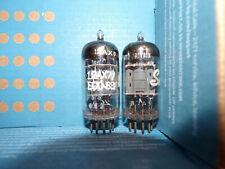 2  Excellent matched blackburn mullard  12ax7  tubes  # U24