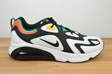 NEW Nike Air Max 200 Rasta Size 13 World Stage White Shoes AQ2568-101