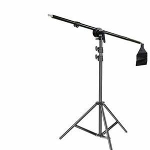 Godox Fotostudio Softbox Lichtständer Lichtstativ mit Boom Arm Galgenstative