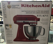 NEW KitchenAid Artisan 5 Qt. 10-Speed Empire Red Stand Mixer KSM150PSER