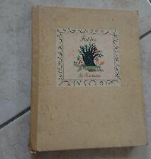 fables de la Fontaine illustré Jacques Ferrand 1950 Mame