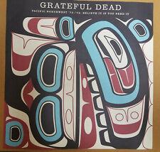 Grateful Dead Pacific Northwest '73-'74 Believe It Ltd Ed rare Litho Poster