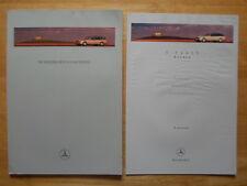 MERCEDES E Class Estates 1997 1998 UK Mkt prestige brochure + specs