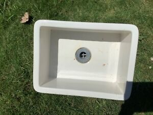 Vintage Antique Porcelain Farm Sink Salvaged 1954
