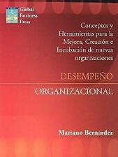 Desempeã±O Organizacional : Mejora creacion e incubacion de nuevas...