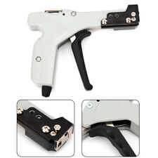 New listing Us Ship Steel Metal Cable Tie Fasten Gun Pliers Crimper Tensioner Tool Auto Cut