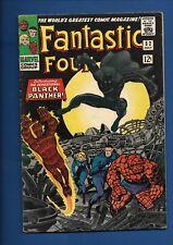 FANTASTIC FOUR #52 1ST APP BLACK PANTHER (T'CHALLA) 1966 HIT MOVIE MARVEL