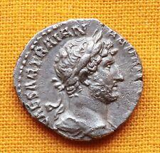 Ancient Roman Hadrianus Denarius