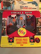 STARSKY AND HUTCH OFFICIAL POLICE TARGET GAME  ARCO  1977  ****Complete****