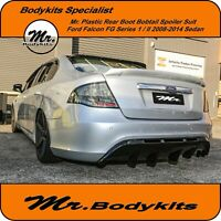 Mr.Bodykits Rear Boot Spoiler Wing For Ford Falcon FG 1/2 XR/ZT/G6/G6E/XR6/XR8