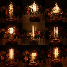 Vintage Retro LED Edison E27 Filamento Lampadine 40W Bianco Caldo Decor RH73