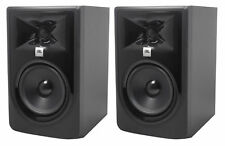 "(2) JBL 305P MkII 5"" 2-Way Powered Studio Reference Monitors Monitoring Speakers"