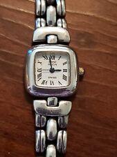 Vintage Sterling Silver Anne Klein Watch.Working.