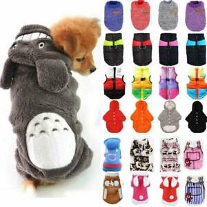 Pet Clothes Sweater Chihuahua Small Dog Soft Coat Jacket Hoodie Winter Costumes