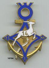 Insigne Sahara ,14  Esc. Saharien d'Infanterie de Marine