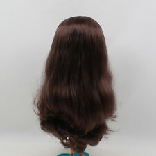 Blythe Doll RBL Scalp & Dome With Brown Hair Without Bangs CA06