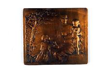 Bronze Medal Art Nouveau Oeuvres de l'Enfance-Brabant/ Mother & Children Theunis