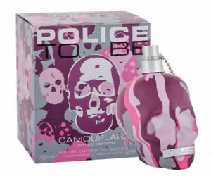 Police To Be Camouflage Pink 75 ml Eau de Parfum Limited Edition NEU & OVP