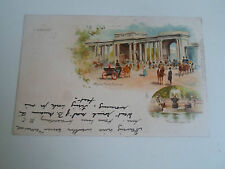 Raphael Tuck+Sons View Postcard No 12 Hyde Park Corner+The Serpentine Dated 1903