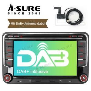Inkl. DAB+ Antenna GPS DVD Navi Autoradio RNS für VW TOURAN GOLF Plus 5 6 PASSAT