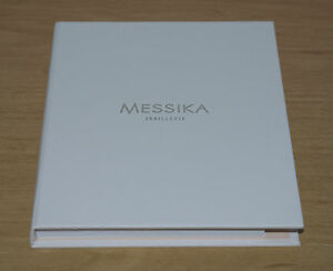 MESSIKA JOAILLERIE SUPERBE AGENDA CALEPIN BLOC NOTES DANS SON EMBALLAGE NEUF