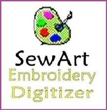 SewArt Sew Art -  Embroidery Sewing Software +220k Designs Free ⭐ FULL VERSION ⭐