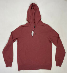 Eleven Paris Pullover Hoodie Men Adult Small Salmon