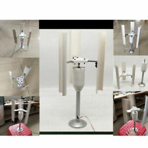 DIY Wind Turbine Model Three-Phase Vertical Axis Permanent Magnet Generator