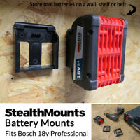 tool rack for mounting batteries in van Hilti 22v Battery Rack 2-6 slots unit