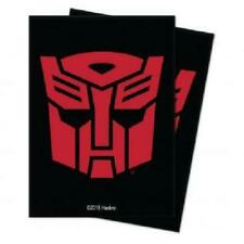Ultra Pro Transformers Autobots Standard Deck Protector Sleeves 100ct New TD2