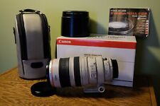 Canon EF 100-400mm f4.5-5.6L IS USM with Lens Case And Lens Hood (ET-83C)